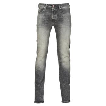 Textil Homem Gangas Skinny Diesel SLEENKER Cinza / Escuro