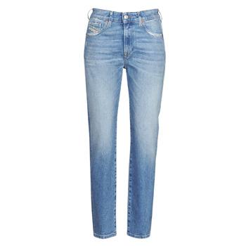 Textil Mulher Calças de ganga slim Diesel D-JOY Azul