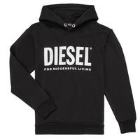 Textil Rapaz Sweats Diesel SDIVISION LOGO Preto
