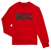 Textil Rapaz Sweats Diesel SCREWDIVISION LOGO Vermelho