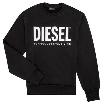 Textil Rapaz Sweats Diesel SCREWDIVISION LOGO Preto