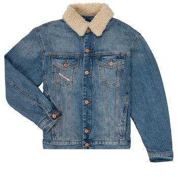 Textil Rapaz casacos de ganga Diesel JRESKY Azul