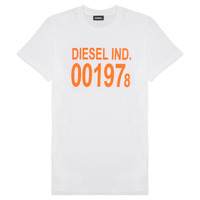 Textil Criança T-Shirt mangas curtas Diesel TDIEGO1978 Branco
