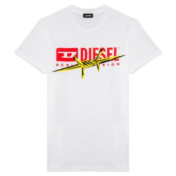 Textil Rapaz T-Shirt mangas curtas Diesel TDIEGOBX2 Branco