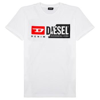 Textil Criança T-Shirt mangas curtas Diesel TDIEGOCUTY Branco