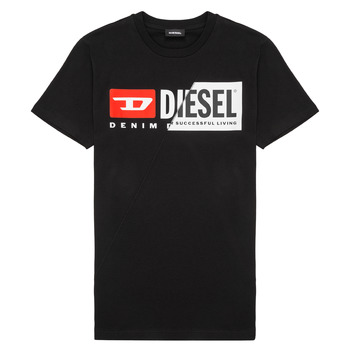 Textil Criança T-Shirt mangas curtas Diesel TDIEGOCUTY Preto