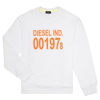 Textil Criança Sweats Diesel SGIRKJ3 Branco