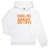 Textil Criança Sweats Diesel SGIRKHOOD Branco