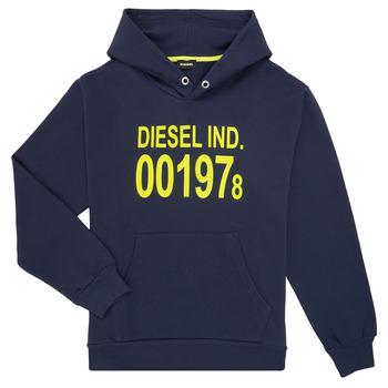 Textil Criança Sweats Diesel SGIRKHOOD Azul