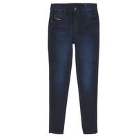 Textil Rapariga Calças de ganga slim Diesel D-SLANDY HIGH Azul