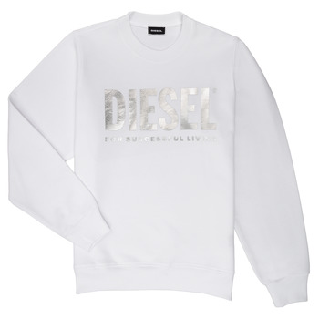Textil Rapariga Sweats Diesel SANGWX Branco