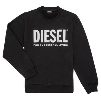 Textil Rapariga Sweats Diesel SANGWX Preto