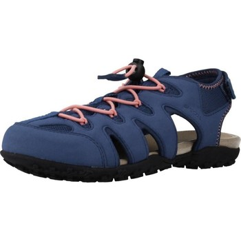 Sapatos Mulher Sandálias desportivas Geox D SAND.STREL B Azul