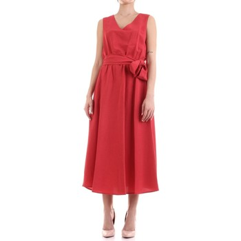 Textil Mulher Vestidos compridos Fly Girl 9890-02 Vermelho