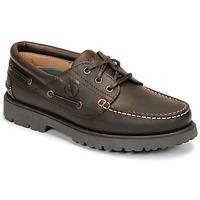 Sapatos Homem Sapato de vela Aigle TARMAC Castanho