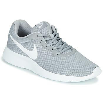 Sapatos Homem Sapatilhas Nike TANJUN Cinza / Branco