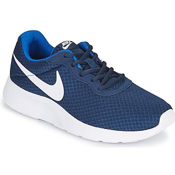 Sapatos Homem Sapatilhas Nike TANJUN Azul / Branco