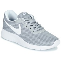 Sapatos Mulher Sapatilhas Nike TANJUN Cinza / Branco
