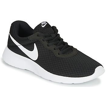 Sapatos Mulher Sapatilhas Nike TANJUN Preto / Branco