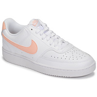 Sapatos Mulher Sapatilhas Nike COURT VISION LOW Branco / Rosa