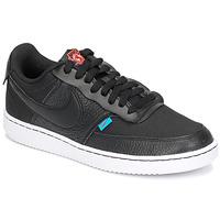Sapatos Mulher Sapatilhas Nike COURT VISION LOW PREM Preto