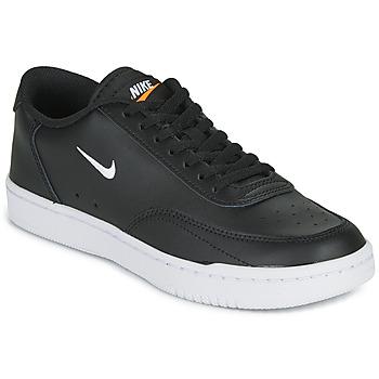 Sapatos Mulher Sapatilhas Nike COURT VINTAGE Preto / Branco