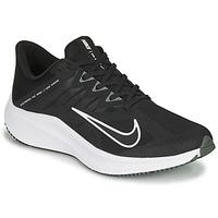 Sapatos Homem Sapatilhas de corrida Nike QUEST 3 Preto / Branco