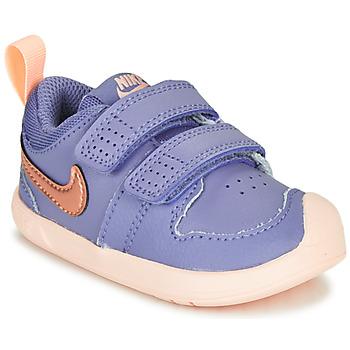 Sapatos Rapariga Sapatilhas Nike PICO 5 TD Violeta / Rosa
