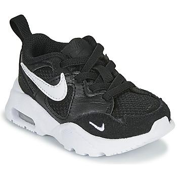 Sapatos Criança Sapatilhas Nike AIR MAX FUSION TD Preto / Branco