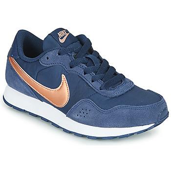 Sapatos Criança Sapatilhas Nike MD VALIANT GS Azul / Cobre