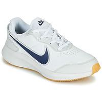 Sapatos Rapaz Sapatilhas Nike VARSITY LEATHER GS Branco / Azul