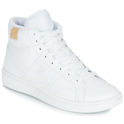 Sapatos Mulher Sapatilhas Nike COURT ROYALE 2 MID Branco