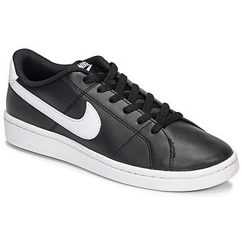 Sapatos Mulher Sapatilhas Nike COURT ROYALE 2 Preto / Branco