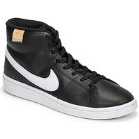 Sapatos Homem Sapatilhas Nike COURT ROYALE 2 MID Preto / Branco