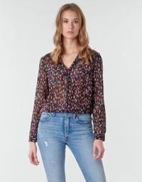 Textil Mulher Tops / Blusas One Step FR12041 Preto