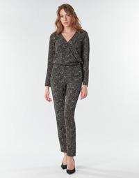 Textil Mulher Macacões/ Jardineiras One Step FR32021_02 Preto