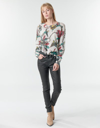 Textil Mulher Calças One Step FR29031_02 Preto