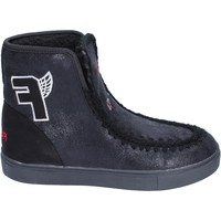 Sapatos Rapariga Botins Fiorucci BM430 Preto