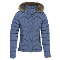Textil Mulher Quispos Superdry LUXE FUJI PADDED JACKET Azul