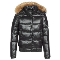Textil Mulher Quispos Superdry HIGH SHINE TOYA BOMBER Preto