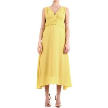 Textil Mulher Vestidos compridos Fly Girl 9845-01 Amarelo