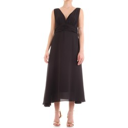 Textil Mulher Vestidos compridos Fly Girl 9845-01 Preto