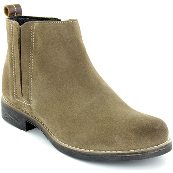 Sapatos Mulher Botins Walkwell U Ankle boots CASUAL Taupe