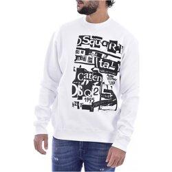 Textil Homem Sweats Dsquared S74GU0305 Branco