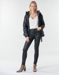 Textil Mulher Calças Emporio Armani 6H2J20 Preto