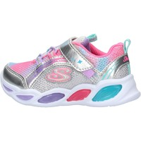 Sapatos Rapariga Sapatilhas Skechers - Shimmer beams argento 20269N SMLT ARGENTO