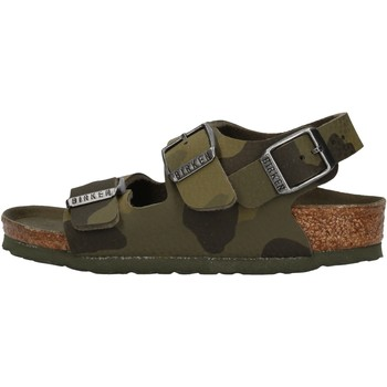 Sapatos Rapaz Sandálias Birkenstock - Milano verde militare 1014590 VERDE