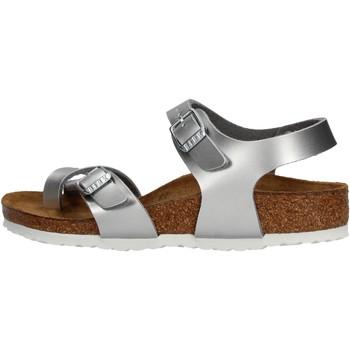 Sapatos Rapariga Sandálias Birkenstock - Taormina argento 1017923 ARGENTO
