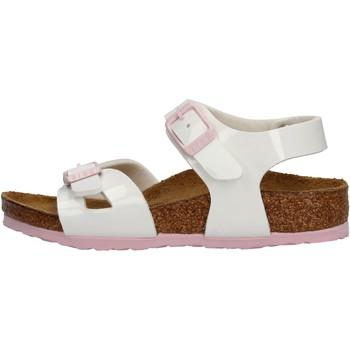 Sapatos Rapariga Sandálias Birkenstock - Rio bianco vr 1017924 BIANCO