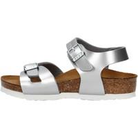 Sapatos Rapariga Sandálias Birkenstock - Rio argento 1012518 ARGENTO